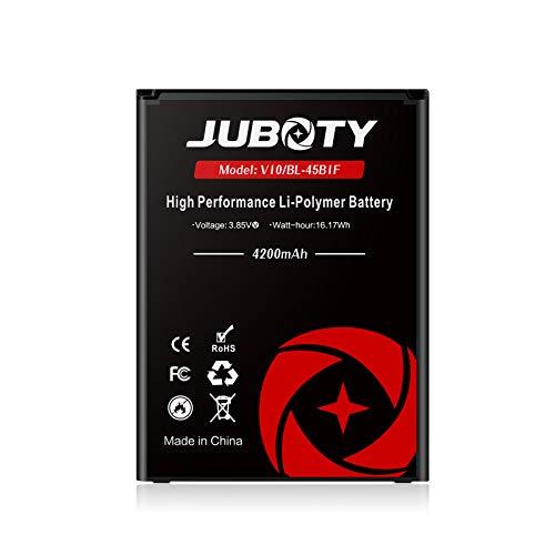 LG V10 Battery, JUBOTY 4200mAh Li-ion Replacement Battery for LG BL-45B1F V10 H901 H900 VS990 H960A LS992/V10 Spare Battery(24 Month Warranty)