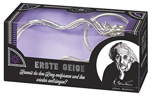 moses. 92107 Albert Einsteins erste Geige | Professor Puzzle Geduldspiel aus Metall