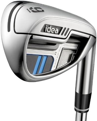 Left お買い得品 Handed Adams Idea #6-PW Iron Fle 88 Regular Reax ギフ_包装 Steel Set