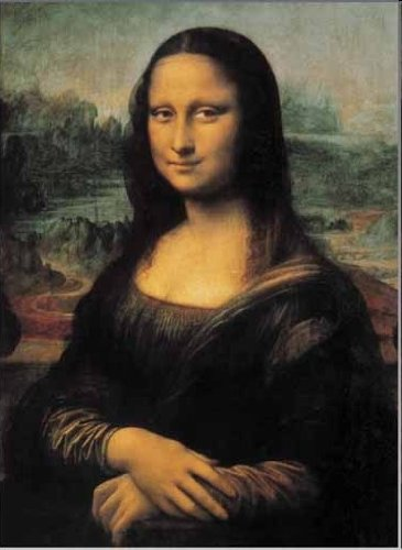 2901N16180   De Oro Leonardo DA Vinci LA GIOCONDA   Mona Lisa Puzzle 1500 Piezas del Rompecabezas