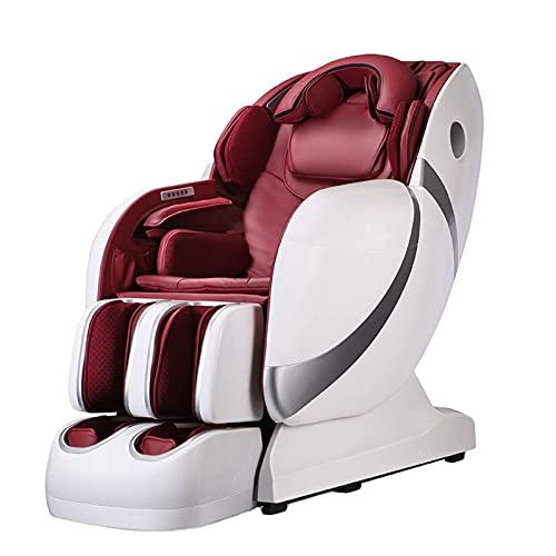 4D Zero Gravity Masaż elektryczny krzesło, pełne krzesło do masażu z toru, dolnej części ogrzewania i rolek stóp