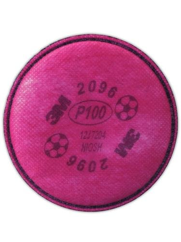 3M 3M2096 P100 Particulate Filter with Nuisance Level Acid Gas Relief