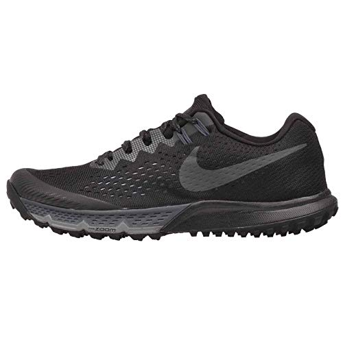Nike Womens Air Zoom Kiger 4 Training Trail Running Shoes, Black/Anthracite Size 7 US
