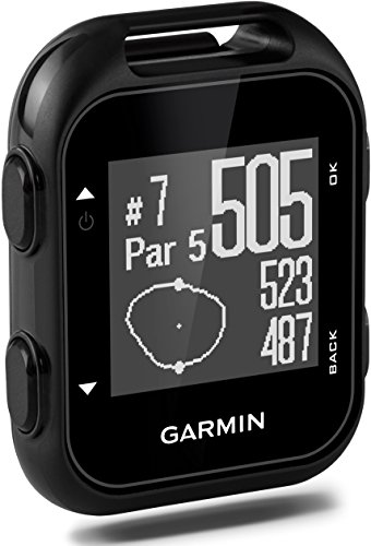 Garmin 010-01959-00 Approach G10 Dispositivo GPS de Golf Compacto con Clip, Negro (Reacondicionado)