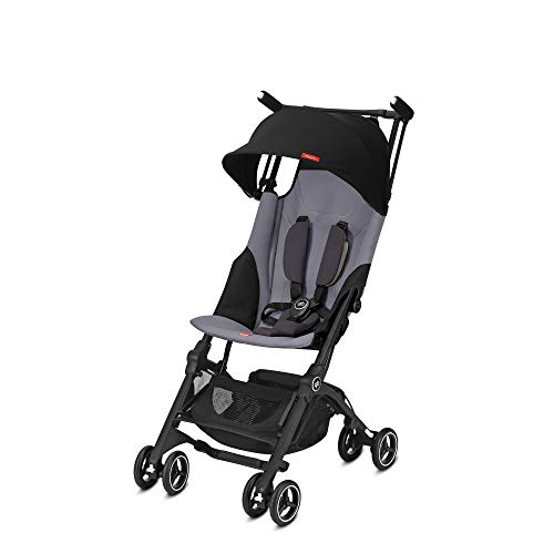 GB Pockit Plus Lightweight Stroller, Silver Fox Grey