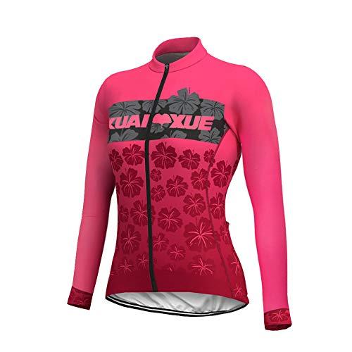 Uglyfrog Nuevo Maillot Ciclismo De Mujer Otoño Manga Larga Ropa De Triatlon Transpirables CXWL01