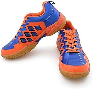 Vector X CS-2010 Badminton Shoes, (Blue/Orange)