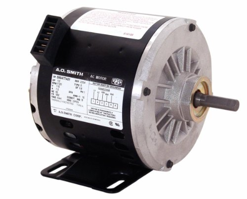 A.O. Smith OTEB2054A 1/2 HP, 1725 RPM, 1 Speed, 56Z Frame, CWLE Rotation, 1/2-Inch x 2-5/8-Inch Flat Shaft OEM Direct Replacement