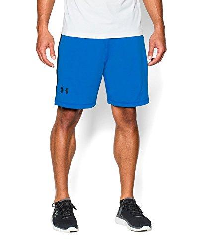Under Armour Pantalon de Fitness pour Homme 8IN Raid Short et Shorts S Bleu - Blj/Blk