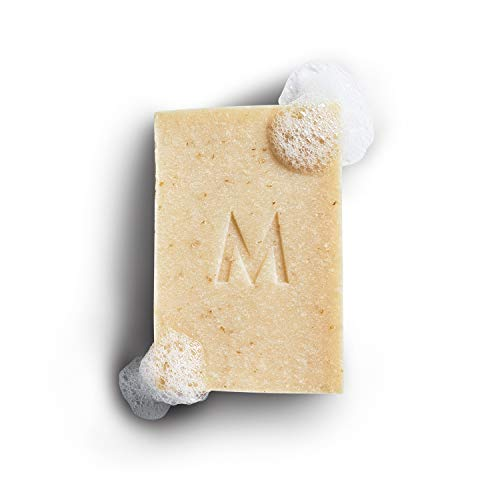 Manos Soap Co. Oatmeal Milk Honey Soap Bar Fragrance Free with Exfoliating Colloidal Oatmeal, Cedarwood, Copaiba Balsam - All Natural Ingredients, A Great Smell, and Nourished Skin - Handmade in USA - The Perfect Cosmetic Present for Men and Women