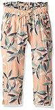 ROXY Girls Little Life Beach Pants, Salmon Leaves, 5