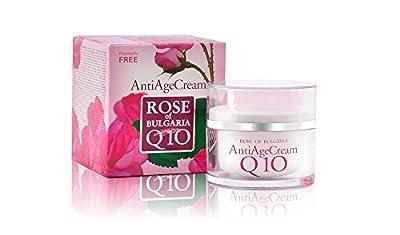Biofresh Anti Age Face Cream Q10 with Rose Water, Paraben Free, 50 ml by Biofresh