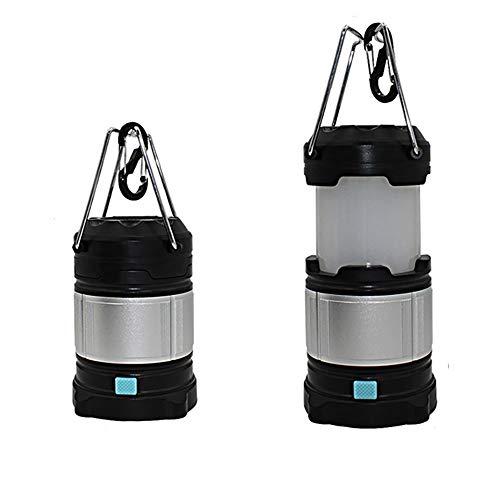 KEECARLY Nuova Batteria Ricaricabile Lanterna LED uragano lampade 4 Luminosità modalità Compact Grande Luce for Caccia Pesca Interruzioni di Alimentazione da Giardino