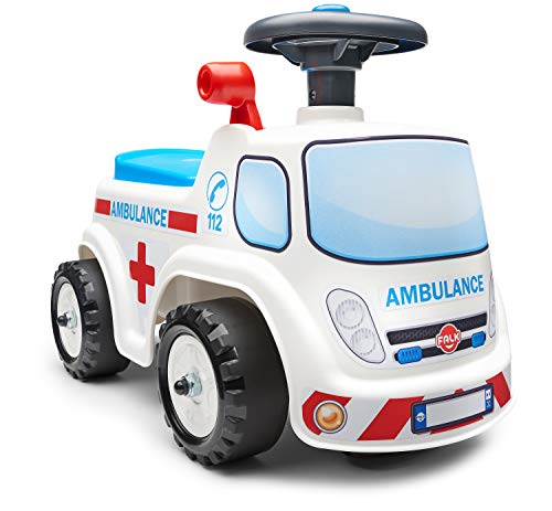 Falk 701 - Portabicicletas Ambulance a Partir de 12 Meses - Fabricado...