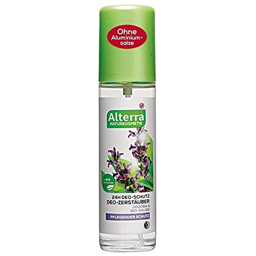 Alterra Deo-Zerstäuber Jojoba & Bio-Salbei, 75 ml