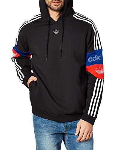Adidas TS Trefoil Hoody Black Red Royal XL