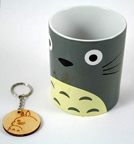 TusPersonalizables.com Taza + Llavero Mi Vecino Totoro (Cara)