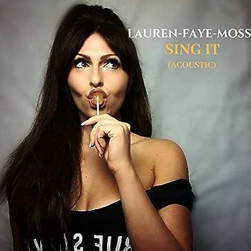 Sing It (Acoustic)