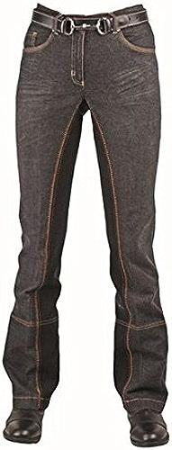 HKM Sports EquipHommest HKM Pantalon d'équitation Jodhpur Noir Taille 22