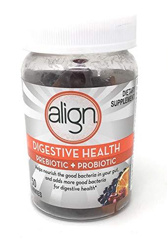 Align Digestive Health Prebiotic + Probiotic Gummies Fruit Flavored - 50 ct