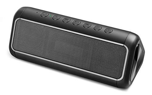 Soluser Portable Solar Bluetooth Speaker with 5000mAh