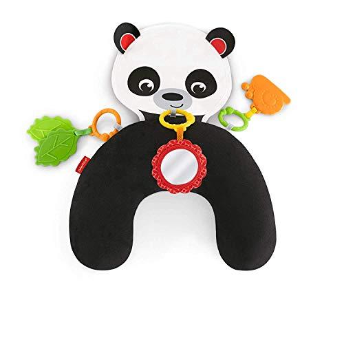 Fisher-Price Panda Cojín Activity, Juguete y Cojín de Actividades para Bebé Recién Nacido (Mattel FXB99)