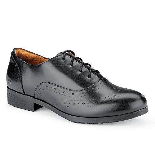 Shoes for Crews 52152-39/6 KORA Halbschuhe, Rutschhemmende, Größe 39 EU, Schwarz