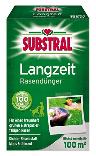 Substral Langzeit Engrais de pelouse 100 m² 2 kg