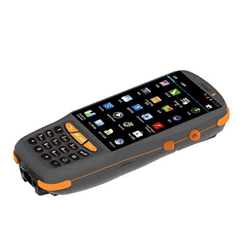 LLC-POWER Handheld Barcode Scanner avec Android 5.1 OS, 1D Barcode Scanner Laser, Pavé Numérique, 4.0In Écran Tactile, 3G 4G WiFi BT GPS NFC, pour Le Système D'inventaire