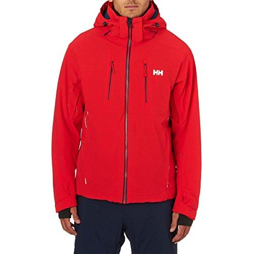 Helly Hansen Herren Alpha 2.0 Jacket Skijacke, Alert Red, S