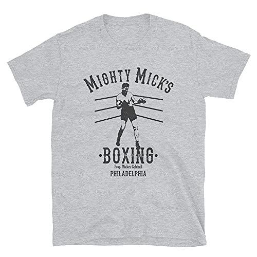 DKISEE Mighty Mick's Boxing Club Philadelphia Training Retro Vintage Gym Camiseta - T1073