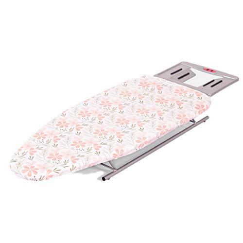 GBPOY Tabla de Planchar Tabla de Planchar de Escritorio pequeña, Tabla de Planchar de Almacenamiento Plegable, Color 80 * 30cm Mesa de Planchar portátil (Color : Multi-Colored)