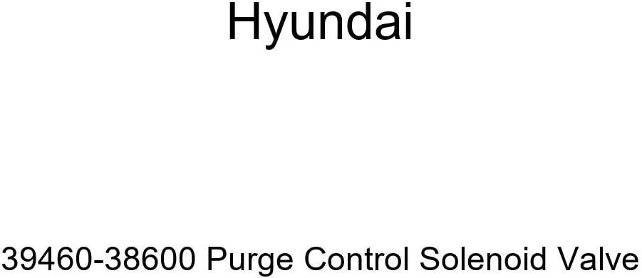 Outlet SALE Genuine Hyundai 39460-38600 Purge Control Solenoid Valve Ranking TOP17