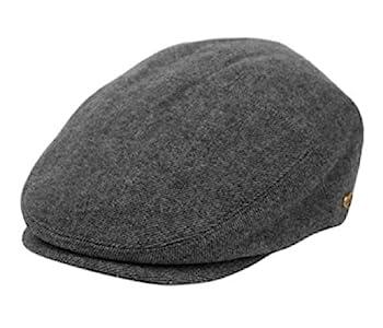 Men s Premium Tweed Wool Newsboy Ivy Hat Large-X-Large Gray