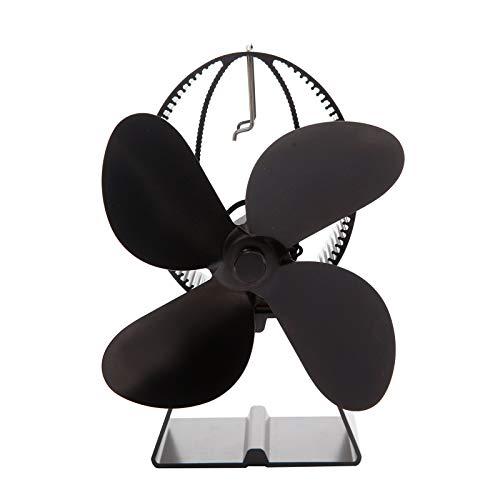 Ventilador de chimenea Fábrica De La Chimenea Estufa De Calor Forma De La Estufa Eléctrica Operación Silenciosa For La Estufa De Leña De La Estufa De Leña Chimenea Ventilador de circulación de