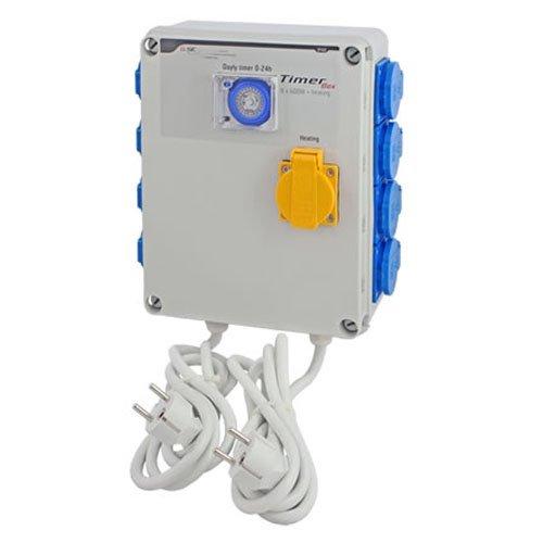 Minuterie / Programmateur GSE Timer Box 8x600w + Chauffage (GSE-12C)