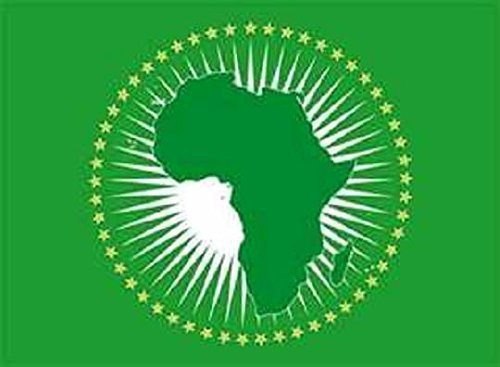 U24 Aufkleber Afrikanische Union Flagge Fahne 8 x 5 cm Autoaufkleber Sticker