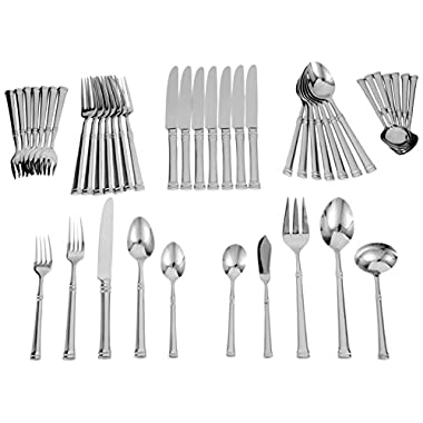 Ricci Bramasole 45-Piece Stainless-Steel Flatware Set, Service for 8