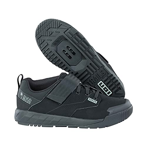 Ion Rascal Amp MTB/Dirt Fahrrad Schuhe schwarz/grau 2022: Größe: 43