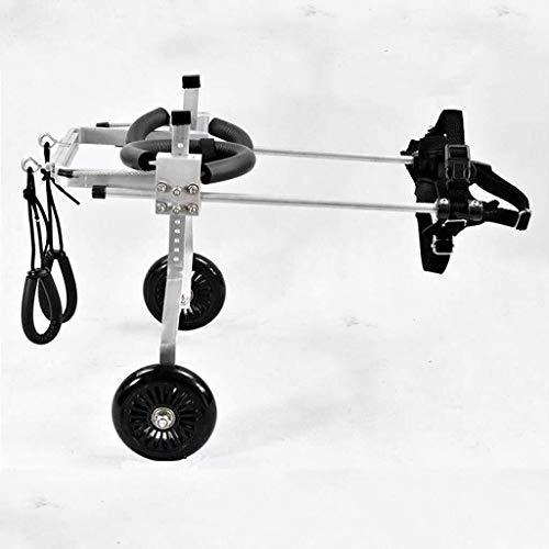 Roller voor rolstoel, voor huisdieren, honden, motorfiets, achteruiteinden, gehandicapte honden/huisdieren, training, revalidatie van het voertuig, PET en PET met zadel