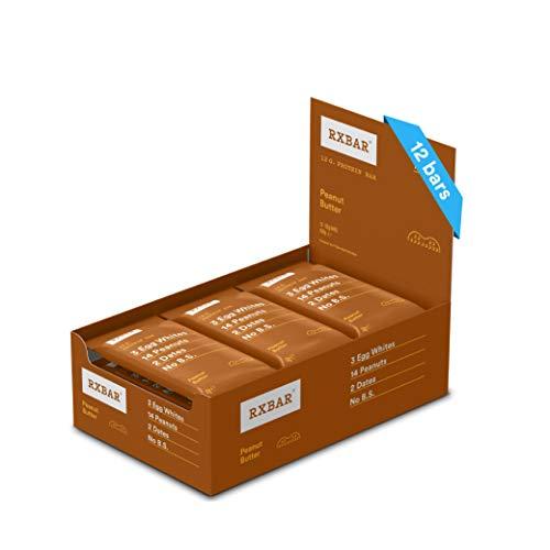 RXBAR, Protein Bar, Peanut Butter, Gluten Free, 12-Pack, Made in the UK