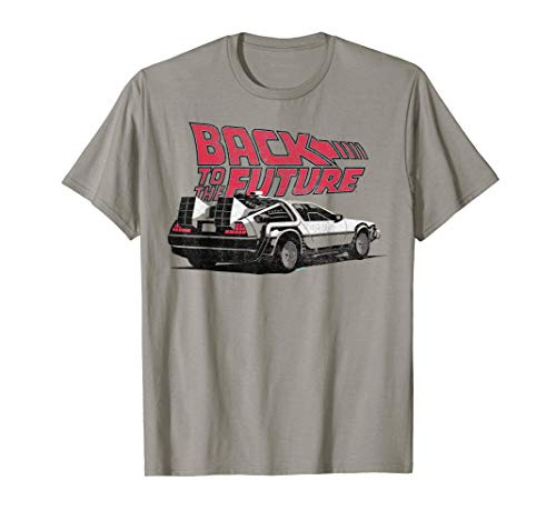 Back To the Future DeLorean Graphic T-Shirt, 5 Colors, Adult and Youth Sizes