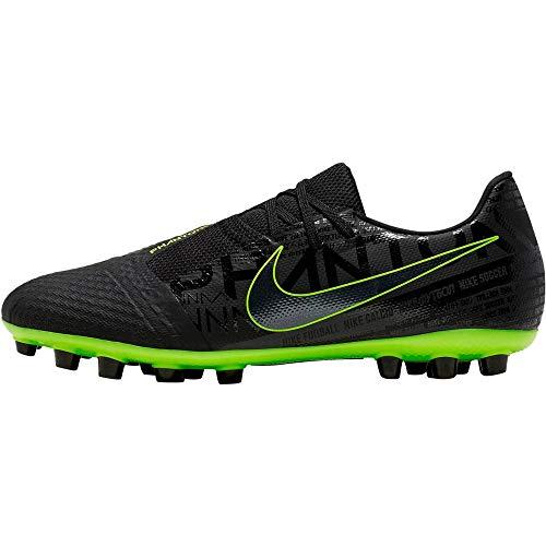 Nike Phantom Venom Academy AG, Zapatillas de Fútbol Unisex Adulto, Negro (Black/Black/Volt/Volt 007), 42 EU