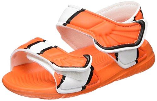 adidas Unisex Baby Disney Akwah 9 Lauflernschuhe, Mehrfarbig (Orange/Core Black/FTWR White), 25 EU