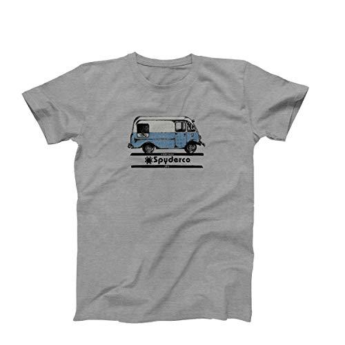 Spyderco Unisex High Performance Logo T-Shirts – Hergestellt aus Polyester und Baumwolle