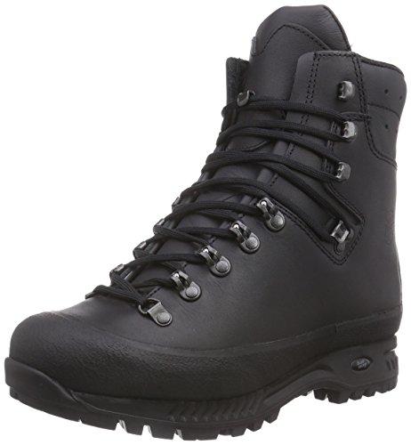 Hanwag Herren Yukon Trekking- & Wanderstiefel, Schwarz (Schwarz_Black 12), 44 EU