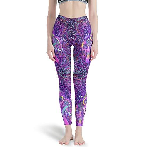 Chartiny Leggings de seta para mujer Super Soft Running Yoga Pantalones para deportes xl blanco