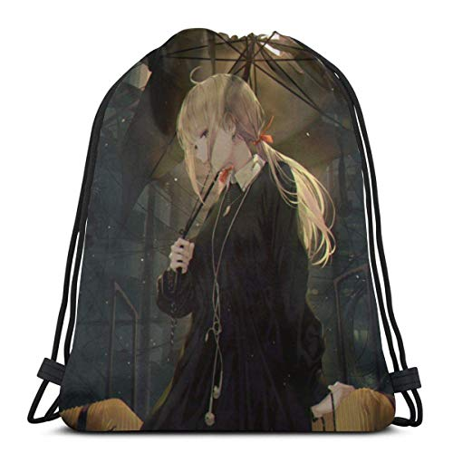 521 Drawstring Backpack,Post-Apokalyptischen Gym Bag Idee Kordelzug Rucksack Tasche Leichtgewicht Tunnelzug Gymsack Stilvoll Sportbeutel Für Kinder Jugendliche Erwachsene