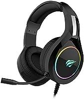 Headphone Fone de Ouvido Havit HV-H2232d, Gamer, Iluminação RGB, com Microfone, Falante de 50mm, Conector 3.5mm, HAVIT,...