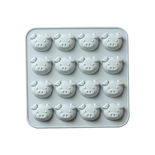 BEECM Tray Mould Silicone Animal Non-Stick Cake Cookie Chocolate Mould Lovely Shapes Mold Baking Tray